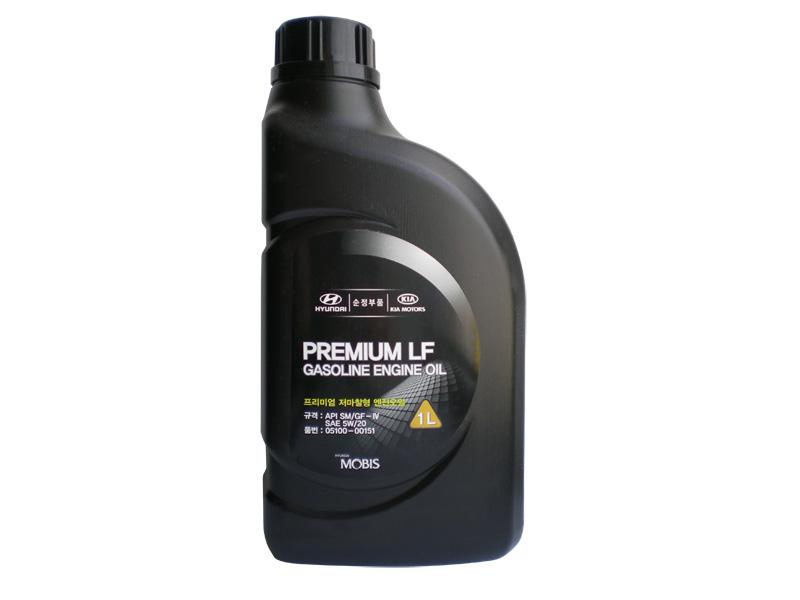 MOBIS PREMIUM GASOLINE 5W20 1L SL/GF-3